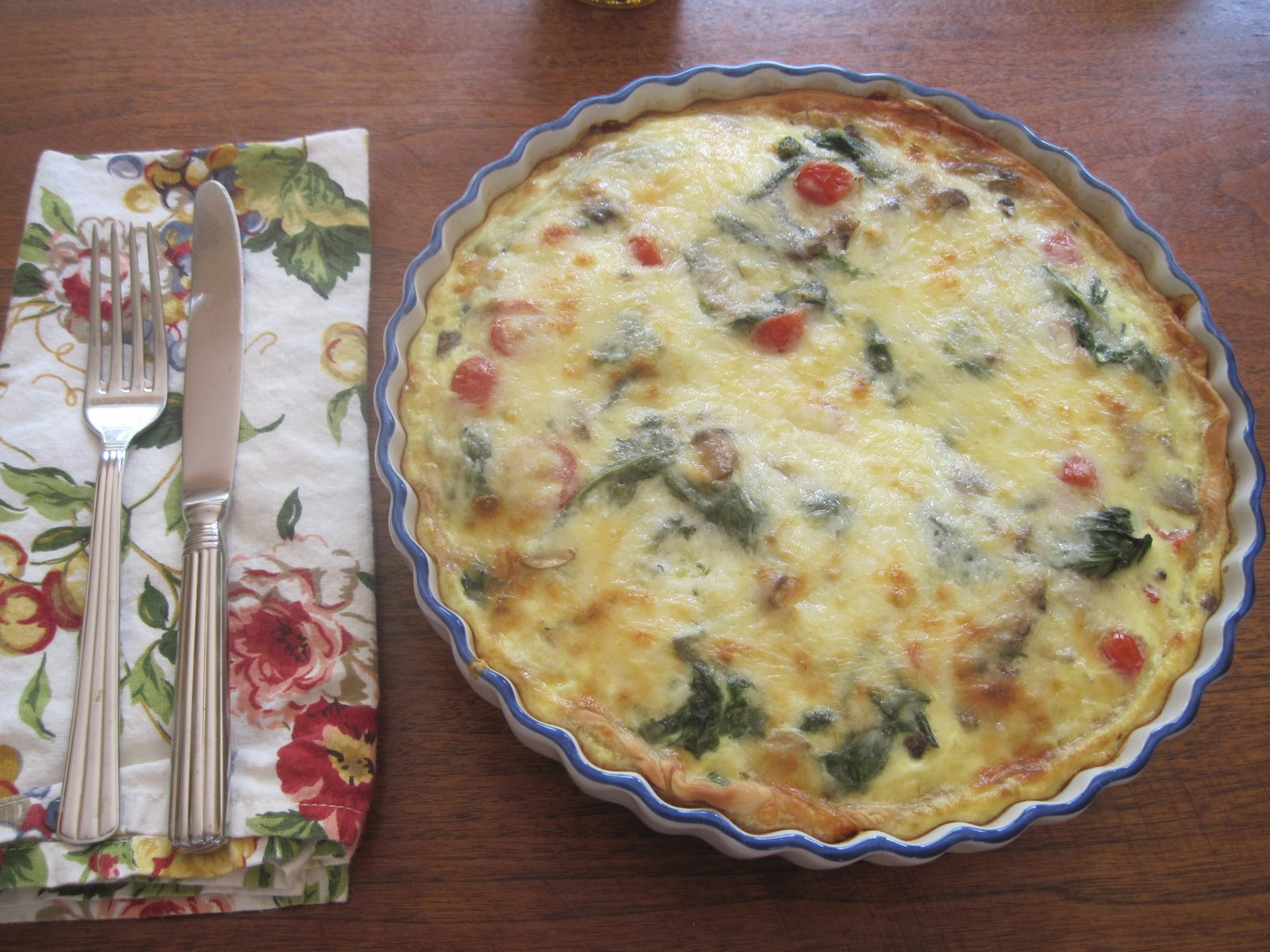 Easy Summer Quiche Moore Or Less Cooking