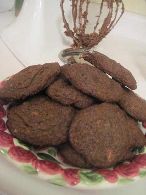 Espresso White Chocolate Chip Cookies