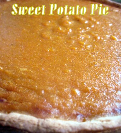 Sweet Potato Pie And My Pie Party!!