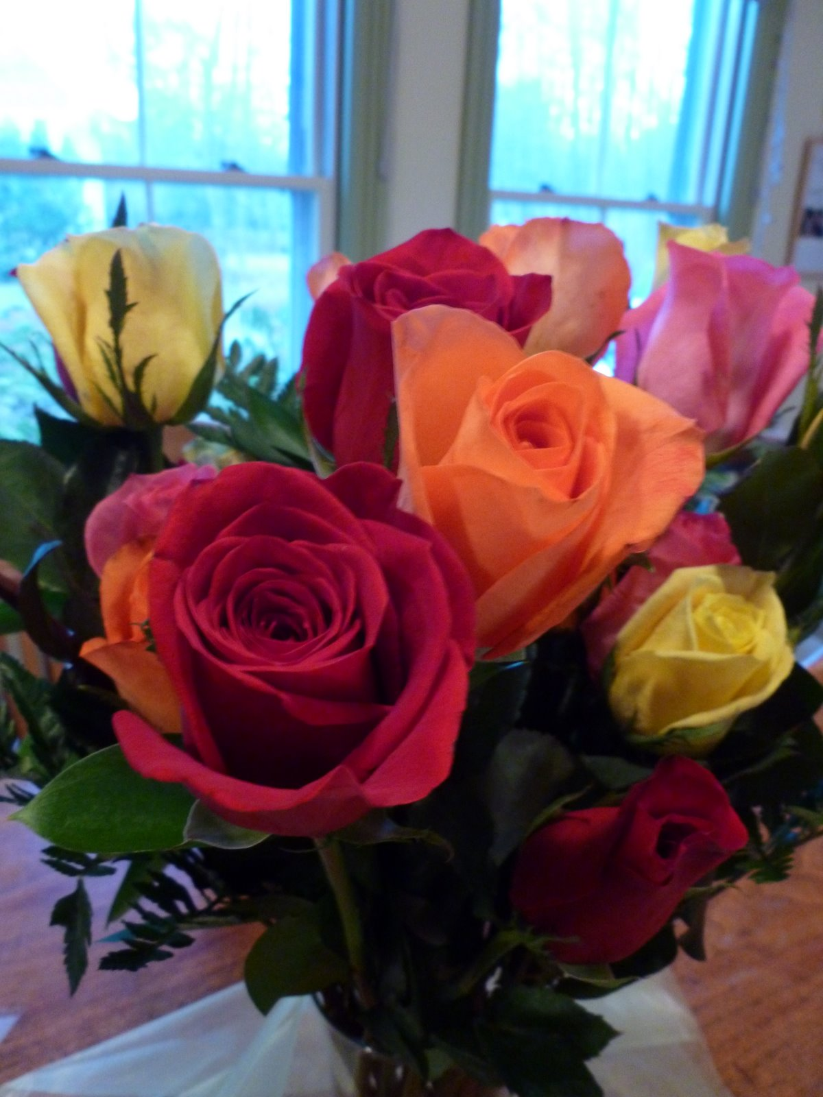 Moore or less cooking easy recipes for those who like to cook and bake happy birthday to me i returned home from work to a gift from my wonderful friend lily bellee most beautiful bouquet of roses that i have ever seen izmirmasajfo
