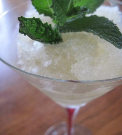 Mint Julep Granita for the Kentucky Derby