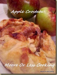 { Sunday's with Joy } Apple Crostata