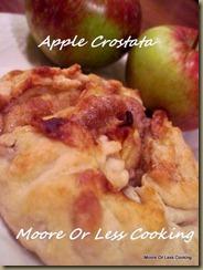 { Sunday's with Joy } Apple Crostata