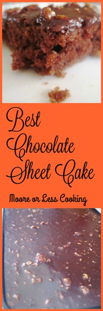 Best Chocolate Sheet Cake