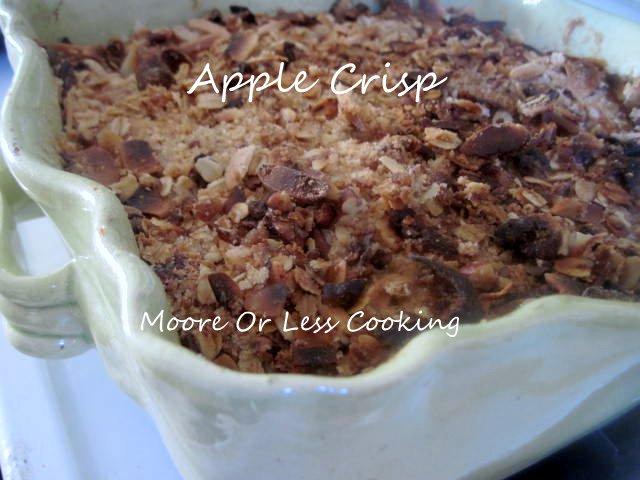< Sunday's With Joy > Apple Crisp