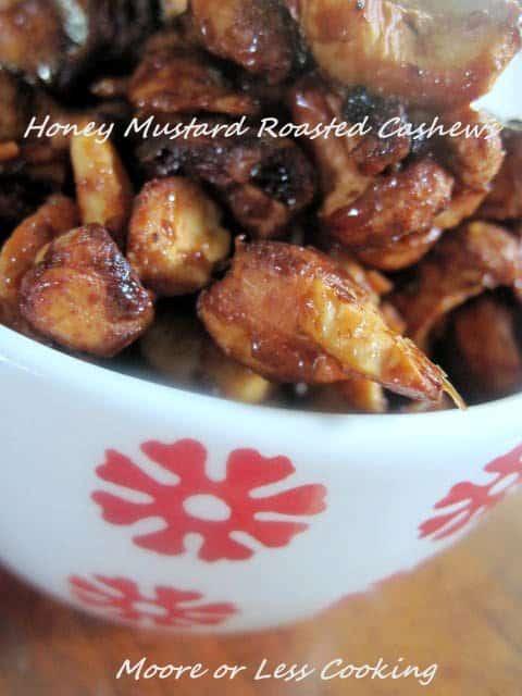 Honey Mustard Roasted Cashews