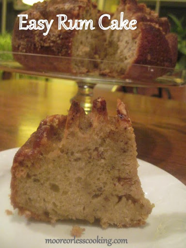 Captain Morgan Rum Cake Recipe
