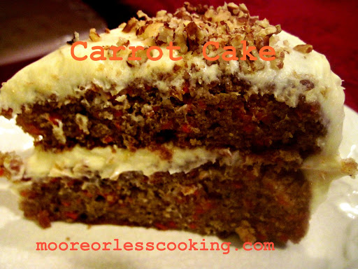 Moore Or Less Cooking Carrot Cake