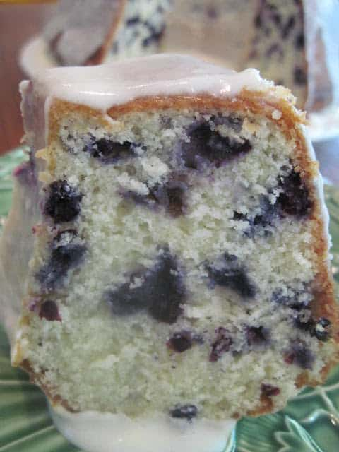 Best Blueberry Bundt Cake