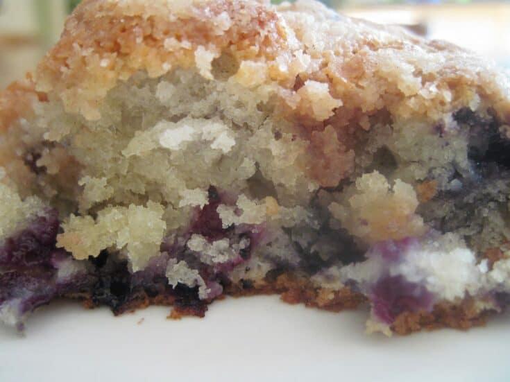 Blueberry Crumb Coffee Cake