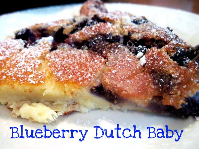 Blueberry Dutch Baby