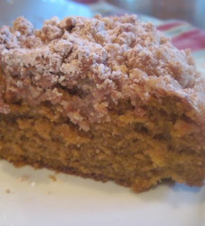 Pumpkin Crumb Cake & VIDEO