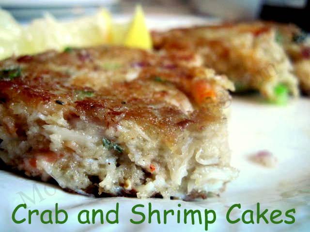 Crab and Shrimp Cakes