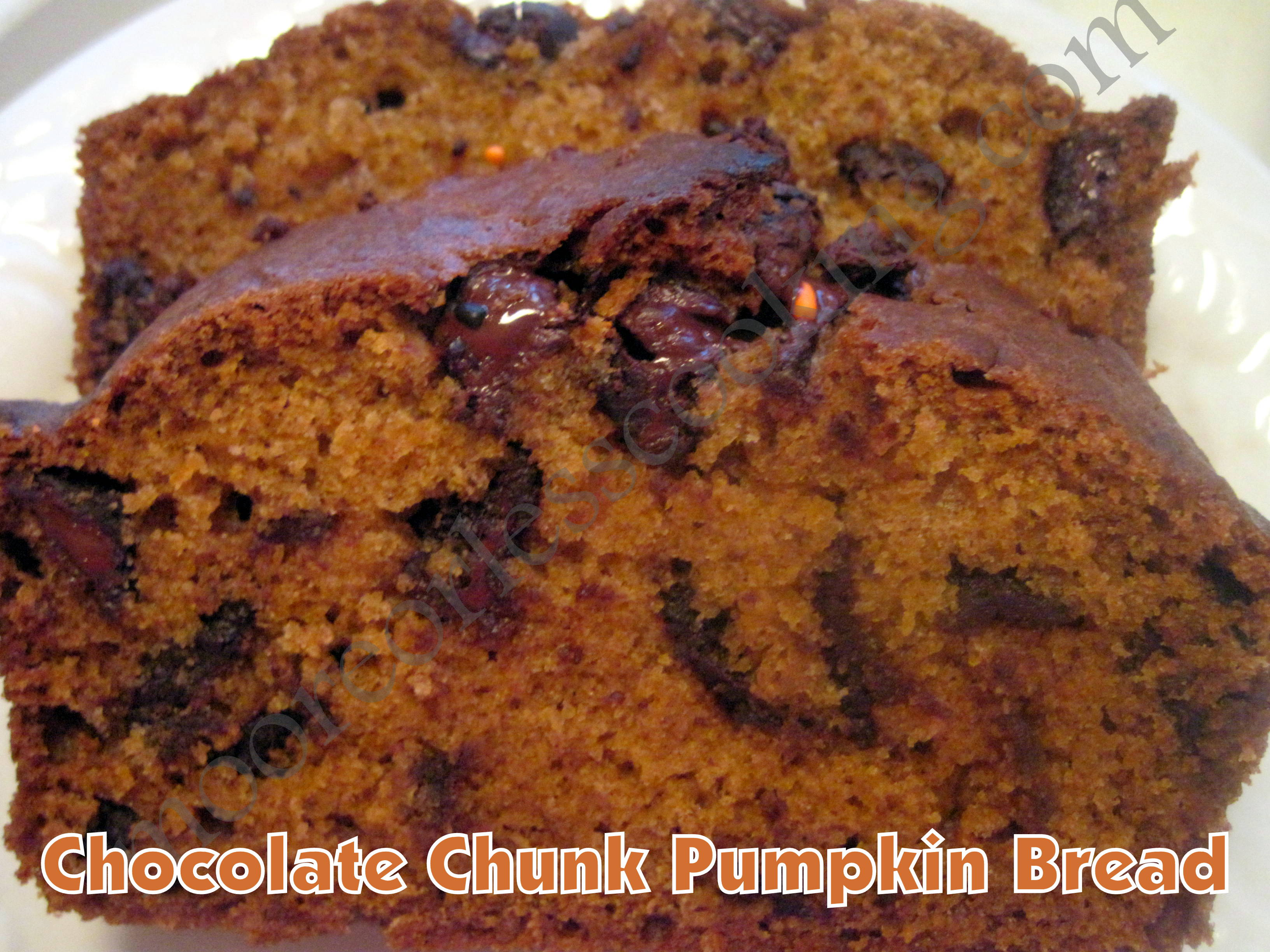 Chocolate Chunk Pumpkin Bread