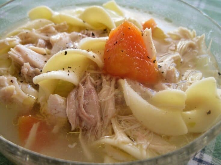TURKEY NOODLE VEGETABLE SOUP