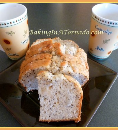Almond Poppy Bread with Lemon Drizzle