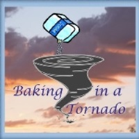 Baking In A Tornado 200 X 200  framed