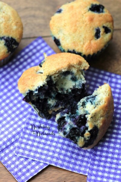 Blueberry Muffins | Noshing with the Nolands