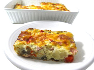 Super Easy, Low Calorie Breakfast Quiche | Skinny Kitchen