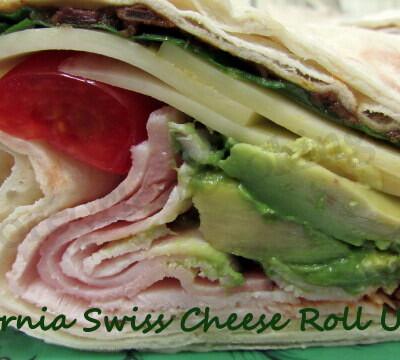 California Swiss Cheese Roll Up