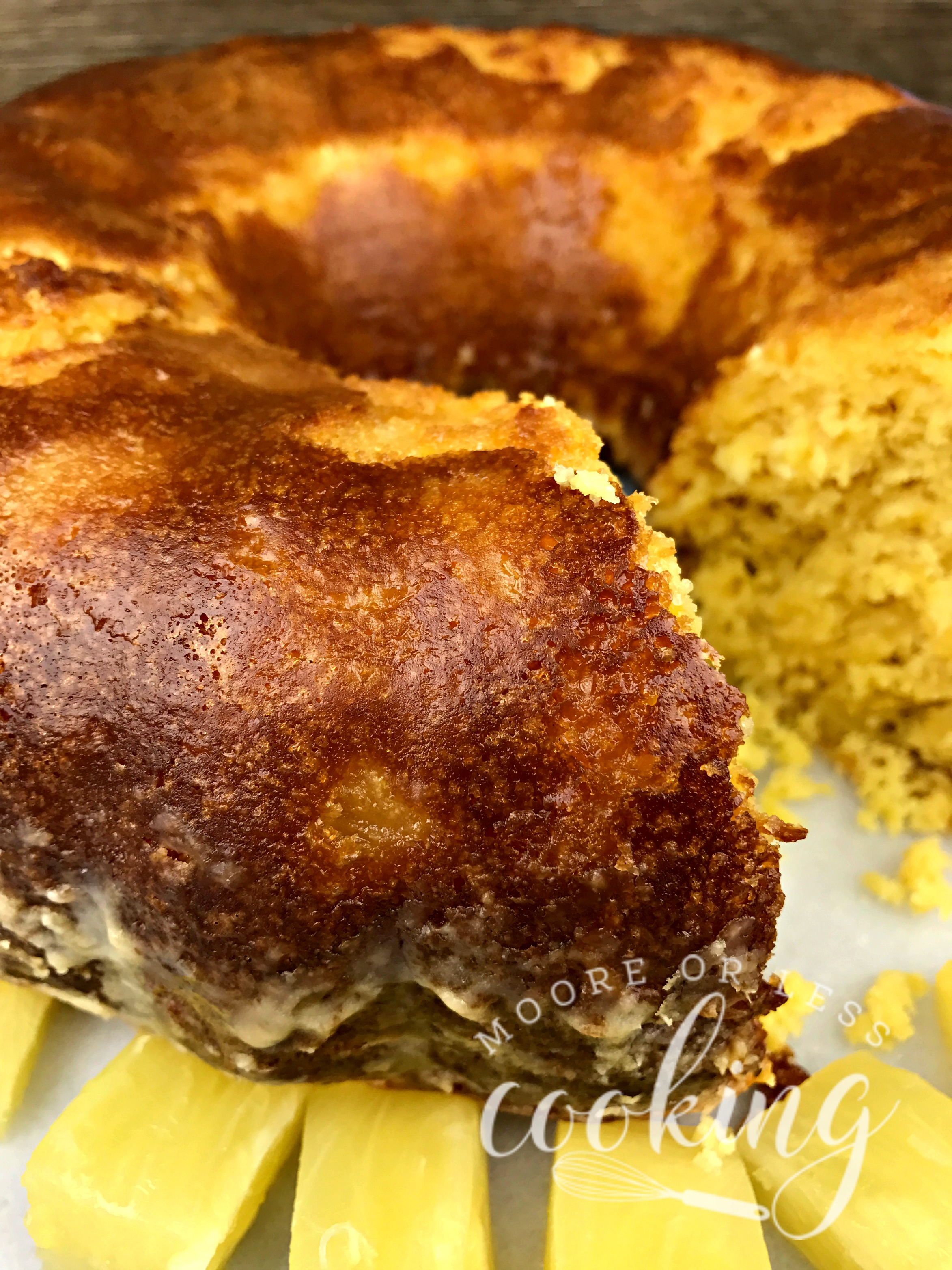 Pineapple Bundt Poke Cake Amp Video