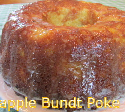 PINEAPPLE BUNDT POKE CAKE & VIDEO