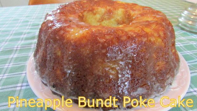 Pineapple Pound Cake In Spring Pan