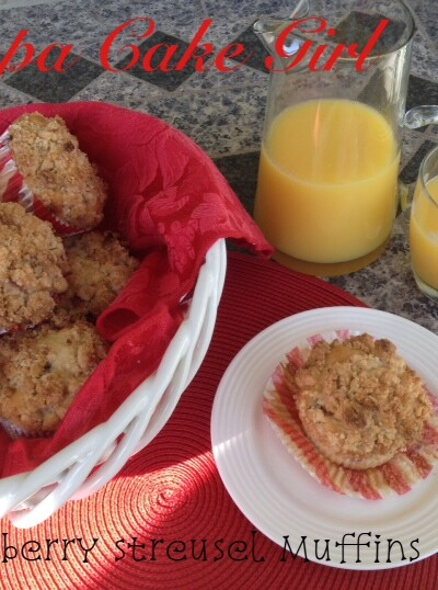 Strawberry Streusel Muffins | Tampa Cake Girl