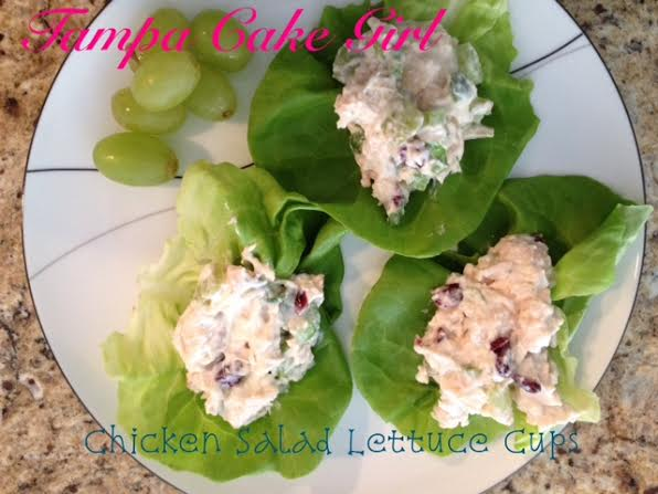 Guest Post from Tampa Cake Girl~ Chicken Salad Lettuce Cups