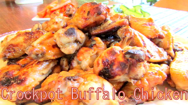 crock pot bbq wings frozen