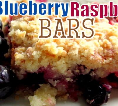 Blueberry Raspberry Bars
