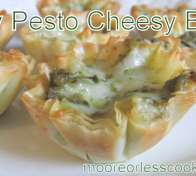 PESTO CHEESY BITES