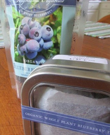 Blueberry Barque, Blueberry Tea & GIVEAWAY!