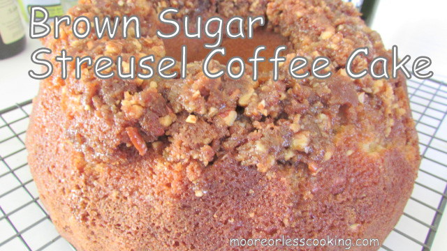 BROWN SUGAR STREUSEL COFFEE CAKE & VIDEO