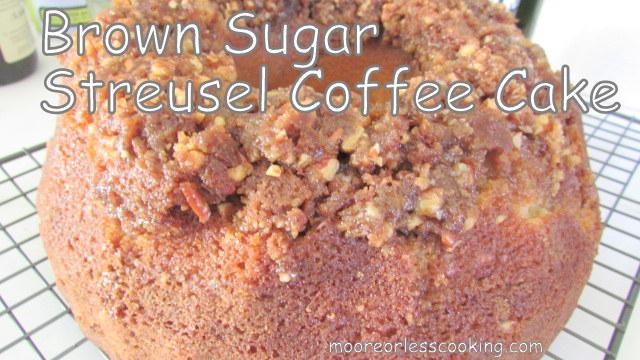BROWN SUGAR STREUSEL COFFEE CAKE & VIDEO