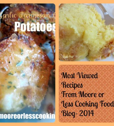 Most  Viewed Recipes from Moore Or Less Cooking~2014!!