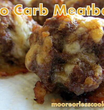 Lo Carb Meatballs