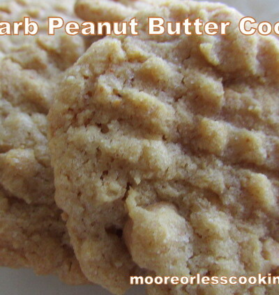 Peanut Butter Cookies~ Lo Carb