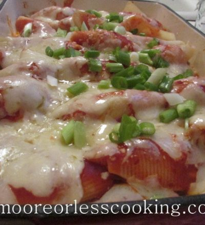 Mexican Stuffed Pasta Shells