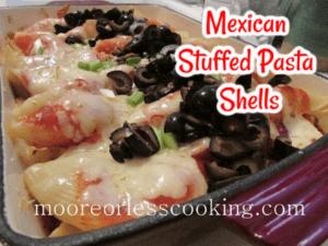 Mexican Stuffed Pasta Shells