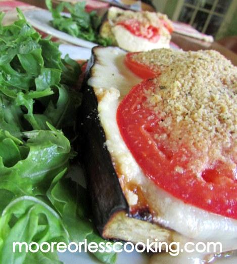 Chianti Eggplant Chicken Parmesan