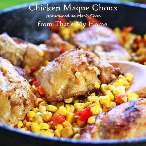Chicken Maque Choux
