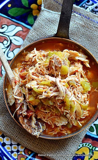 Picante Chicken Tinga