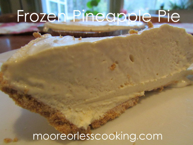 Frozen Pineapple Pie