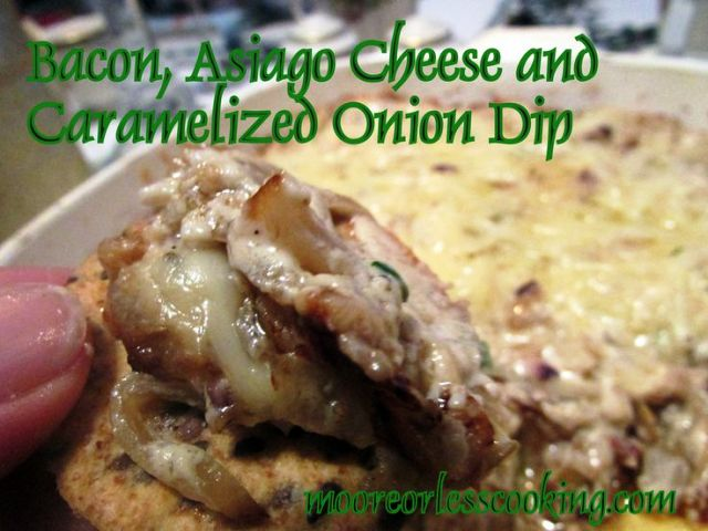 Bacon, Asiago & Caramelized Onion Dip