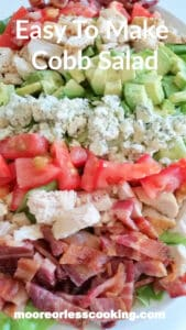 Easy To Make Cobb Salad