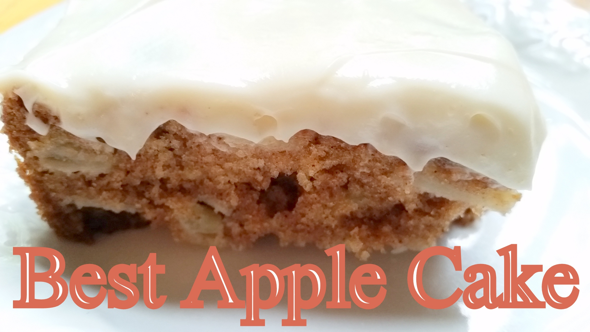 Best Apple Cake