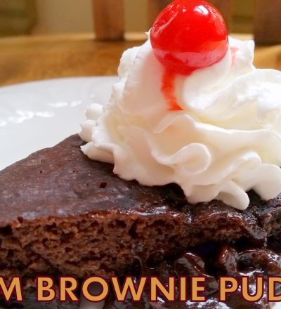 WARM BROWNIE PUDDING & SLOW COOKER DESSERTS COOKBOOK GIVEAWAY!
