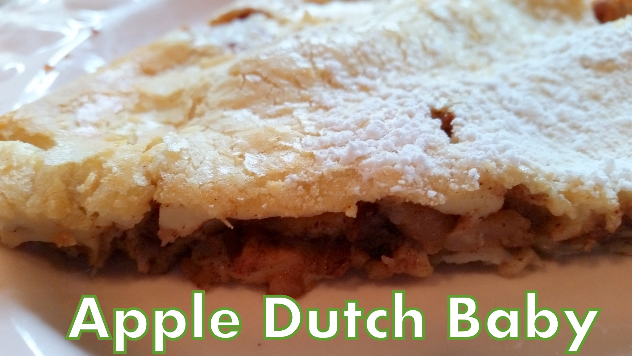 Apple Dutch Baby