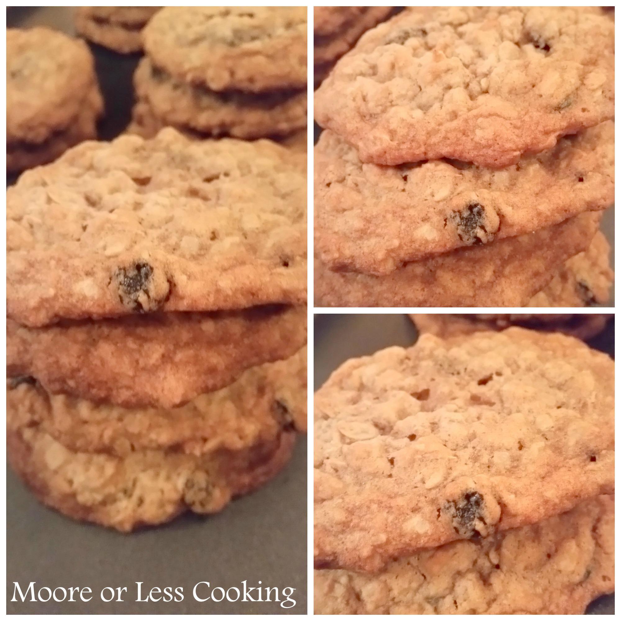 Favorite Oatmeal Raisin Cookies